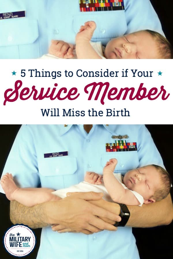 What to do if your service member will miss the birth of the baby? Learn 5 important things to think about before he or she leaves on deployment. #pregnantmilitarywife #breastfeedingshop #ad #militaryspouse #deployment