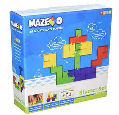You'll love this maze stem set. As an open ended toy it will keep your kids entertained for years to come
