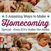While the media primarily features high-profile homecomings, there are ways to make your service member's under-the-radar homecoming special, despite the absence of a large, cheering crowd.