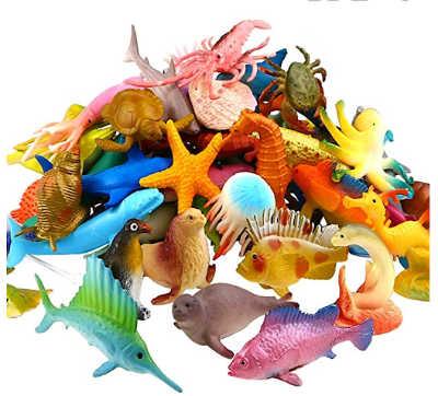 ocean animal sea pack in a pile