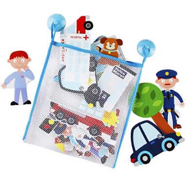 doctor, fireman, police set of foam bath toys