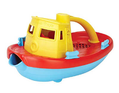 My first tugboat Green Toys. Top 5 Bath Toys for Kids