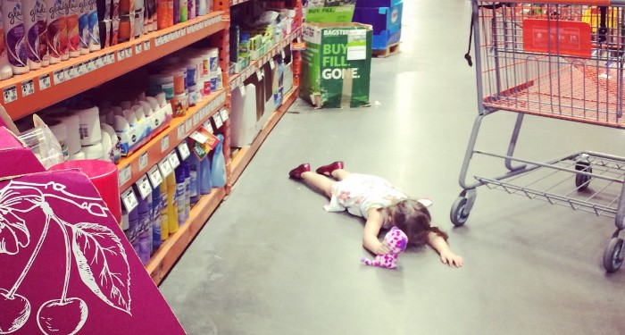 one year old tantrum