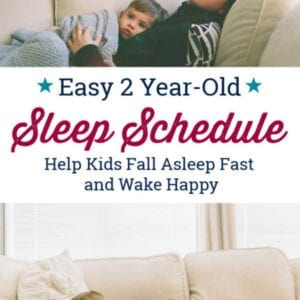 Two year old sleep schedule
