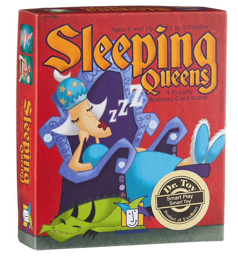 Click image to open expanded view      VIDEO Sleeping Queens Card Game, 79 Cards