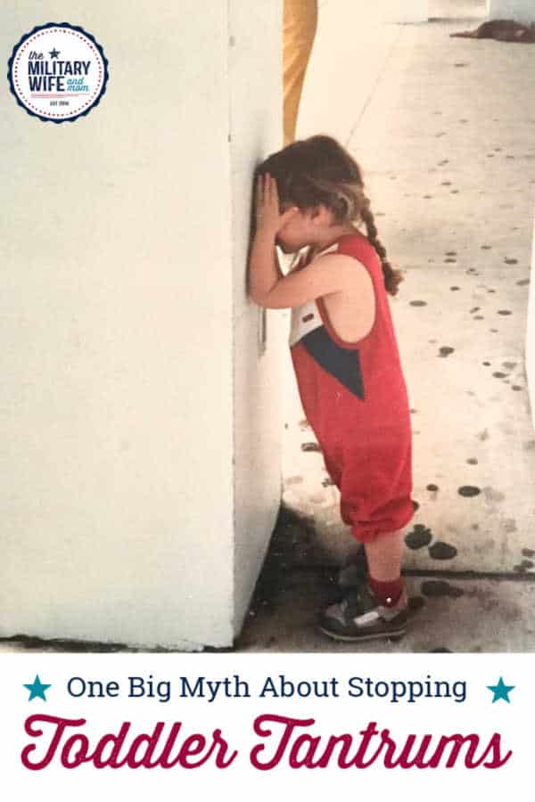 toddler tantrum outside standing by concrete wall