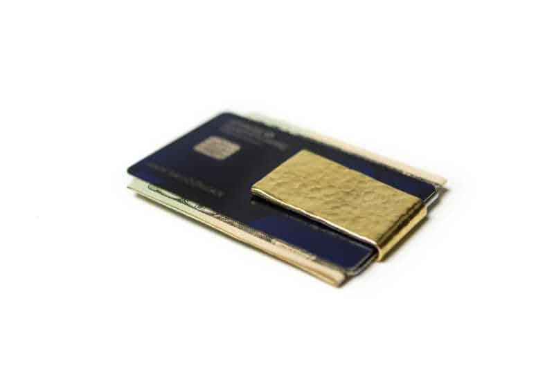 50 caliber money clip as a gift