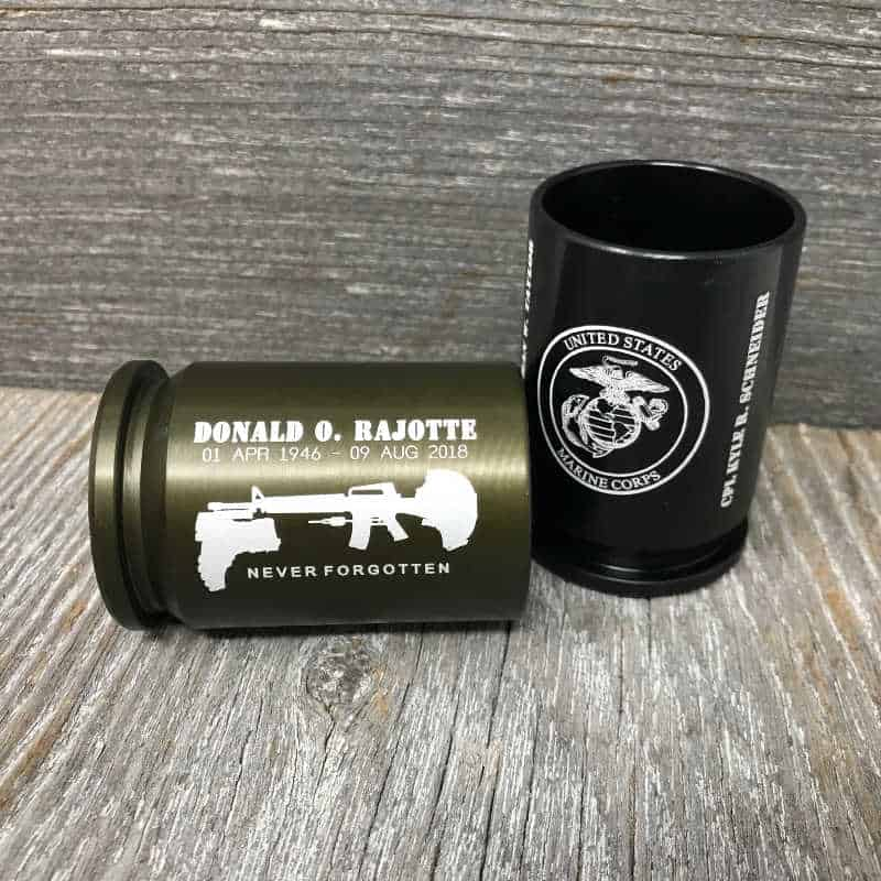 custom engraved shot classes from 30 MM replica