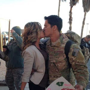 military couple in a relationship
