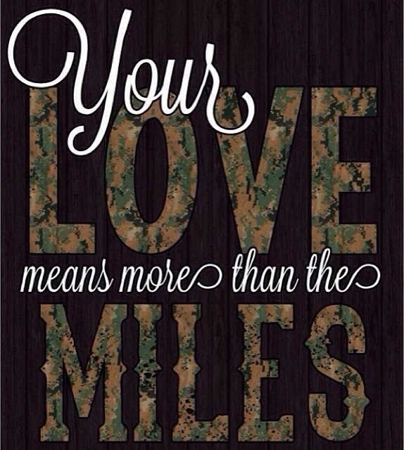 "meme that reads ""your love means more than the miles."""
